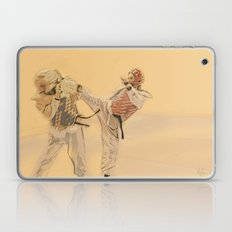 Tae Kwon Do Head Kick Laptop & iPad Skin