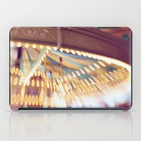 Pink Carousel iPad Case