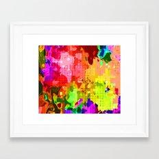 Beauty of Colour Framed Art Print