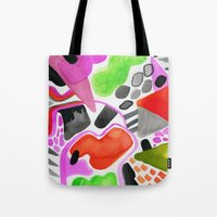 Vibrance Watercolour  Tote Bag