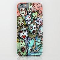 Back Alley Zombie Horde iPhone 6 Slim Case