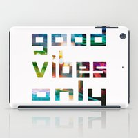 Good Vibes Only // Coach… iPad Case