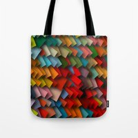 Colorful Rectangles With… Tote Bag