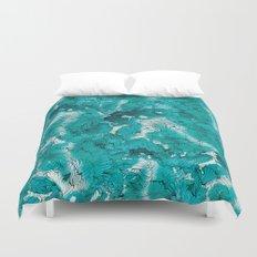 Blue depths Duvet Cover