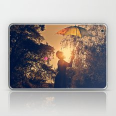 sunshine umbrella Laptop & iPad Skin
