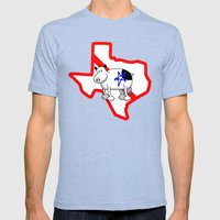 RF #909 Mens Fitted Tee Tri-Blue SMALL