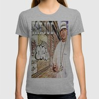Street Phenomenon Fat Joe Womens Fitted Tee Athletic Grey SMALL