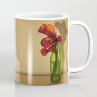 Calla lilies in bloom Mug