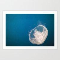 Lonely Pearl Art Print