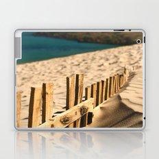 Fence beach Laptop & iPad Skin