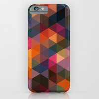 Triangle Coloured Patter… iPhone 6 Slim Case