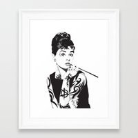 Audrey 2.5 Framed Art Print