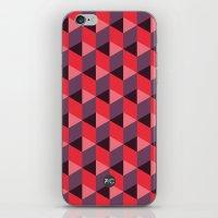 Queen of Hearts [isometrix 013] iPhone & iPod Skin