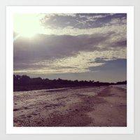 Life Is An Endless Beach… Art Print
