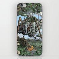 Spiderback Mountain iPhone & iPod Skin