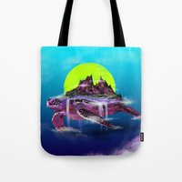 Turtle Paradise Tote Bag