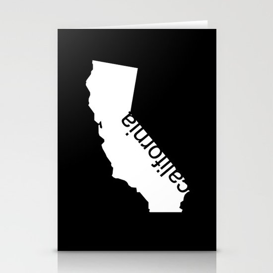 California Stationery Card