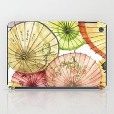Paper Umbrellas iPad Case