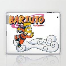 Bartuto: Bart Simpson meets Naruto Uzumaki Laptop & iPad Skin