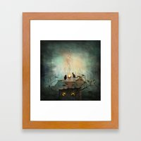 As Time Goes By ... Framed Art Print