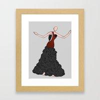 Kynthia Framed Art Print