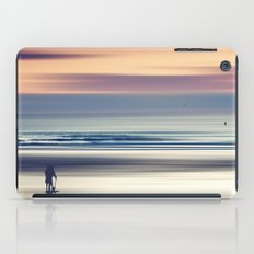 Sharing the Magic - abstract seascape at sunset iPad Case