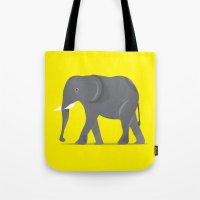 Elephant. Tote Bag