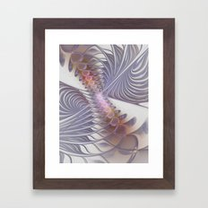 fractal design -30- Framed Art Print