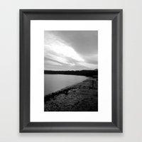 Dark River Framed Art Print