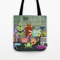 Computer bugs Tote Bag