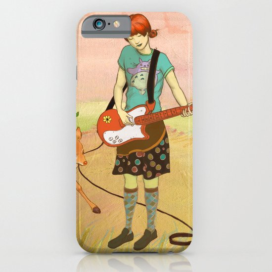 Guitar Fawn iPhone & iPod Case