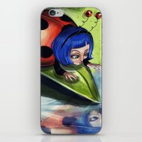 Bug Girls: Curious Lady Bug iPhone & iPod Skin