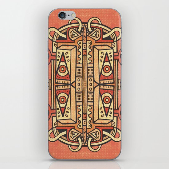 Tribalien iPhone & iPod Skin