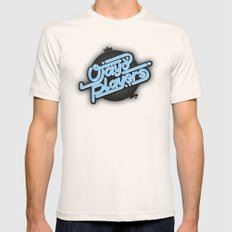 Ojayo Players logo 1 Mens Fitted Tee SMALL Natural