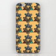 Triad Orange iPhone & iPod Skin