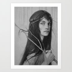 wayward branch Art Print