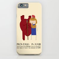 iPhone & iPod Case featuring Heart by madeline audrey