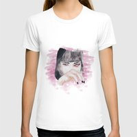 pulp fiction T-shirts featuring pulp fiction. by Ruwaa