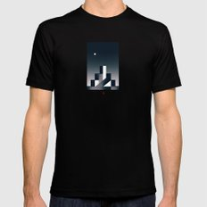 Twilight Mens Fitted Tee Black SMALL