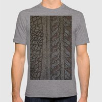 Ravenna Tiles Mens Fitted Tee Athletic Grey SMALL