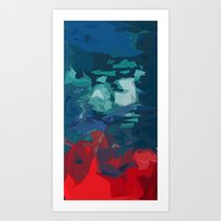 Reflection Of The Soul. Art Print