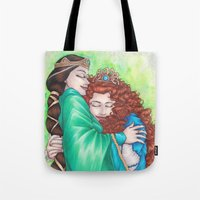 Merida And Elinor Tote Bag