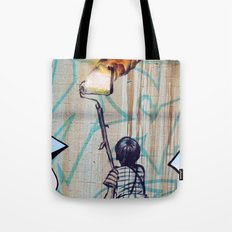 Rolling On Fire Tote Bag