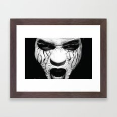 Spook Framed Art Print