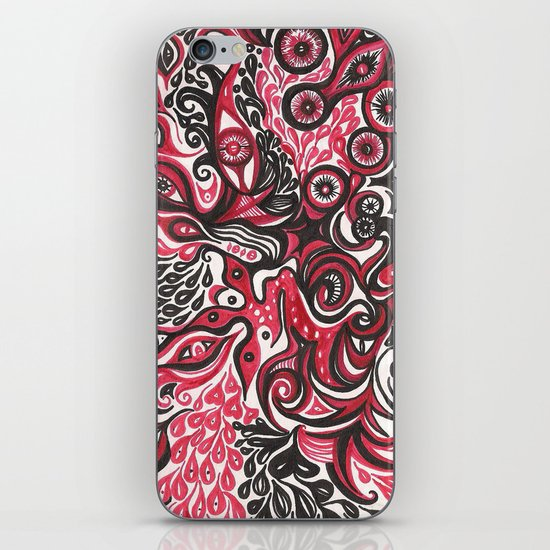 Chaos iPhone & iPod Skin