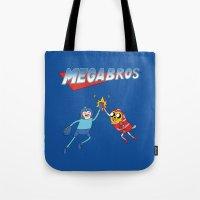 Mega Bros Tote Bag