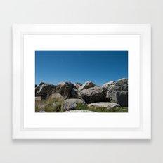 Salt Lake Scenery IV Framed Art Print