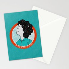 Ride Sally Ride Stationery Cards