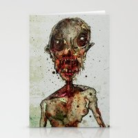 Hungry For Human Flesh Stationery Cards