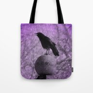 The Surreal Caw Tote Bag
